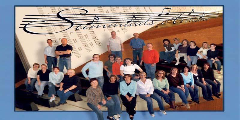 Das Foto vom Chor Stimmicals aus dem Jahr 2008
